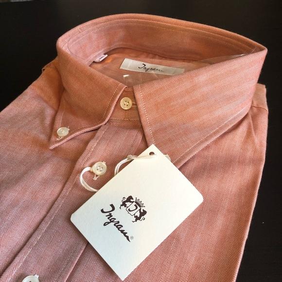 Ingram Other - Ingram Made In Italy Dress Shirt XXL